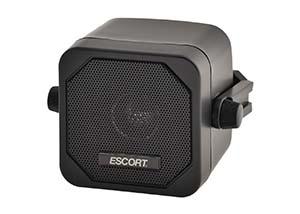 Escort powered auxiliary speaker