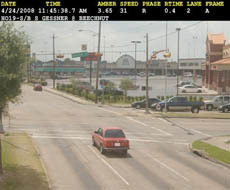 ATS red light camera violation photo
