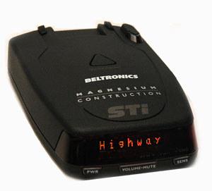 Beltronics STi Driver radar detector