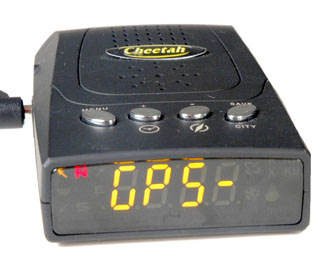 Cheetah C100 red light camera detector