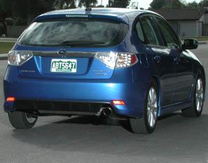 On Track Manufacturing Cruiser Shield on Subaru WRX
