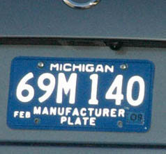 PhantomPlate Reflector license plate cover