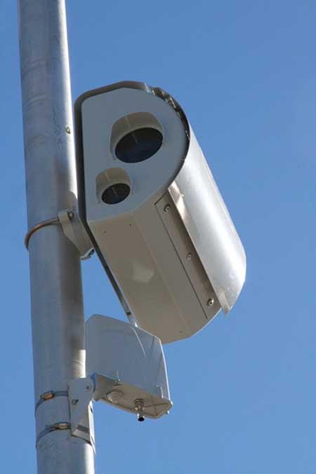 Redflex radar-controlled red light camera