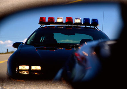 Camaro B4C Police car