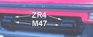 Escort ZR4 and Blinder M47