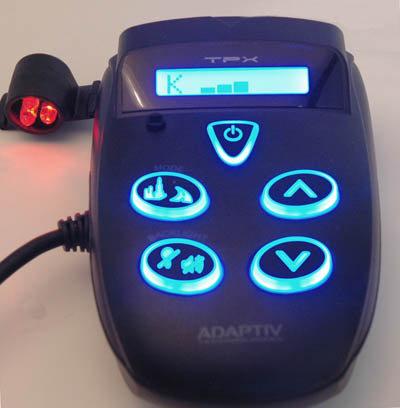 Adaptiv TPX motorcycle radar detector
