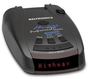 BEL (Beltronics) Pro 200 radar detector