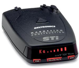 BEL STi Magnum radar detector