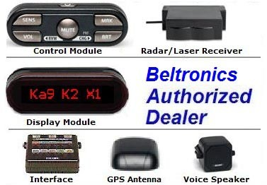 BEL (Beltronics) STiR Plus radar detector