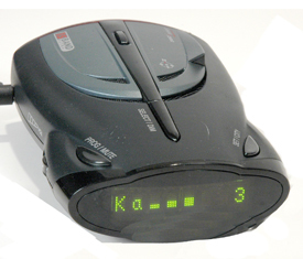 Cobra XRS 9745 radar detector