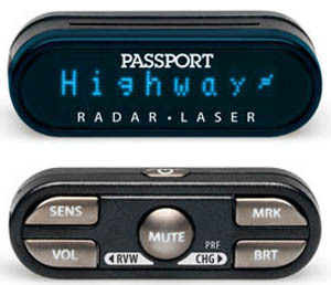 Escort Passport 9500ci remote radar detector