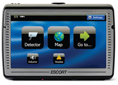 Escort Passport iQ satnav/radar detector
