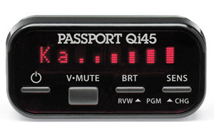 Escort Passport Qi45 radar detector control/display module