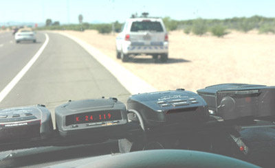 BEL (Beltronics) RX65, Escort Passport RedLine, Escort Passport 9500ix, Valentine One 