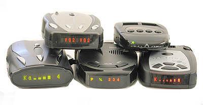 Beltronics Vector 995, Cobra XRS 9700, K40 RD850, Whistler DE1793, Rocky Mountain Radar RMR-D550 style=