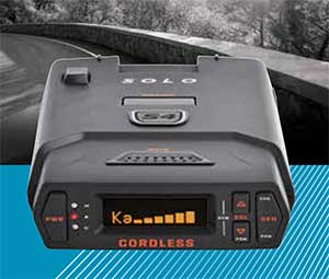 The best radar detector, the Escort Solo S4, is the best cordless radar detector