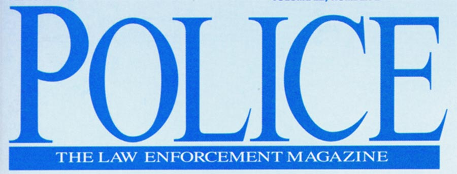 police magazine logo