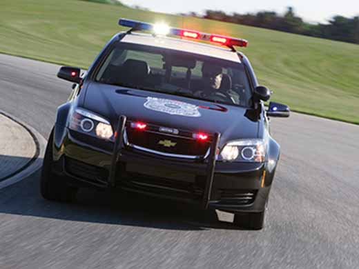 chevrolet ppv police patrol car