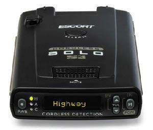 escort passport radar detector