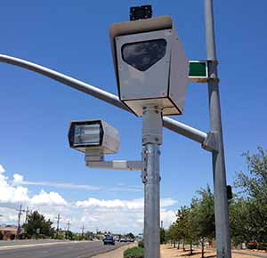 Redflex radar-controlled red light camera