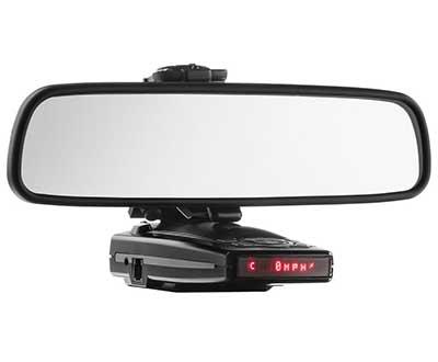 radar mirror mount